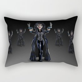 SELENE, THE VAMPIRE FIGHTER. Rectangular Pillow