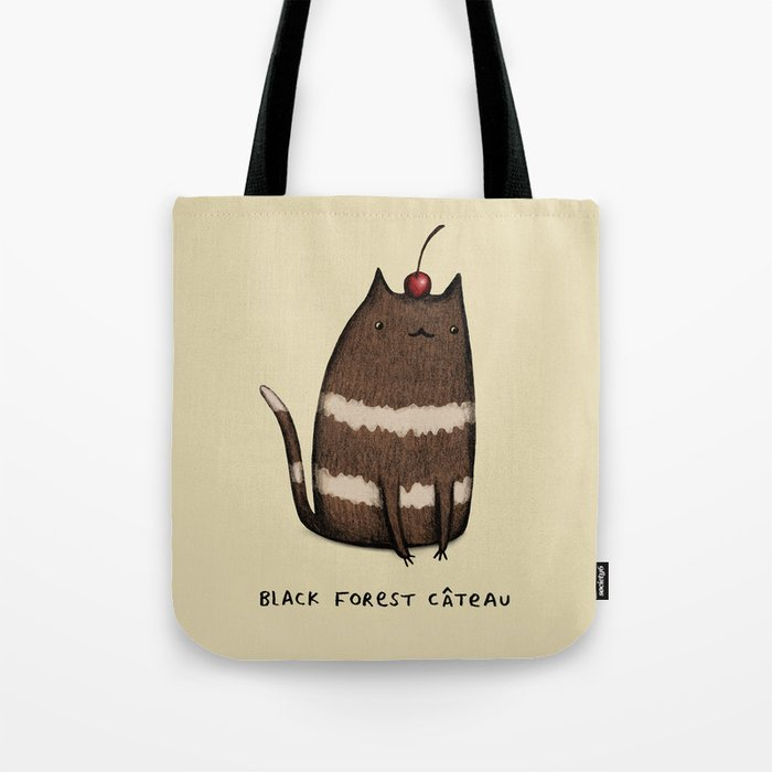 Black Forest Câteau Tote Bag