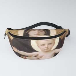 """William-Adolphe Bouguereau """"Virgin and Child"""" Fanny Pack"""