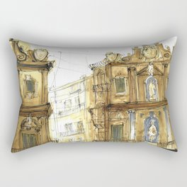 Old Palermo Rectangular Pillow