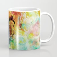 storm Mugs featuring Storm by RIZA PEKER