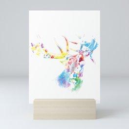 Deer Gift Idea Mini Art Print