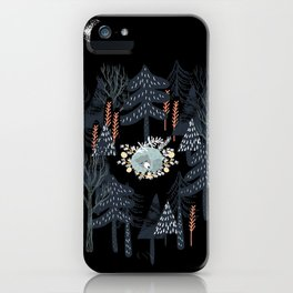 fairytale night forest iPhone Case