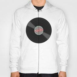 Retro Vinyl Record Hoody