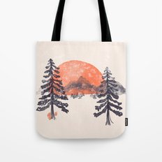 First Snow... Tote Bag
