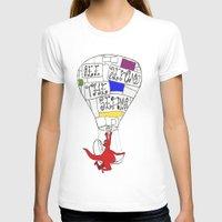 hot air balloon T-shirts featuring Hot Air Balloon  by Ben Jones