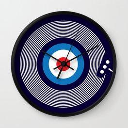 Modernist Kind Of People Wall Clock