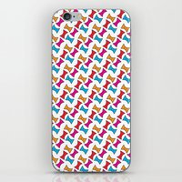 bows iPhone & iPod Skins featuring Bows by Amy Lou