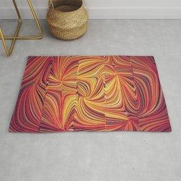 Electric Field Art LV Rug