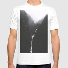 North Cascades National park MEDIUM White Mens Fitted Tee
