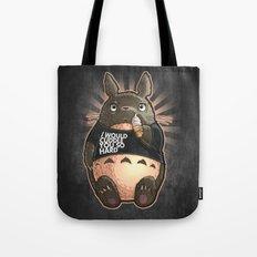 CUDDLE MONSTER Tote Bag