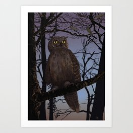 Here's looking at you, Kid! Art Print