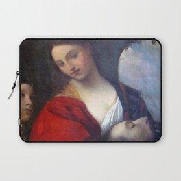 Francisco Nery - Salome with the Head of Saint John the Baptist Laptop Sleeve