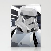 storm Stationery Cards featuring Stormtrooper by Liam Brazier