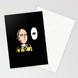 One Punch Man v2 Stationery Cards
