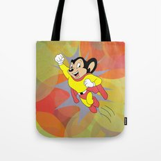 Mighty Mouse - Circles Tote Bag