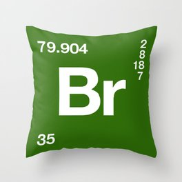 Breaking Bad Br Throw Pillow