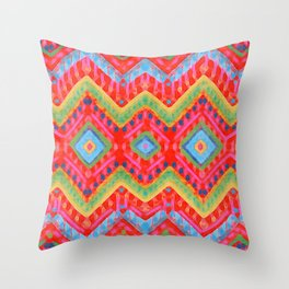 itzel - multi Throw Pillow
