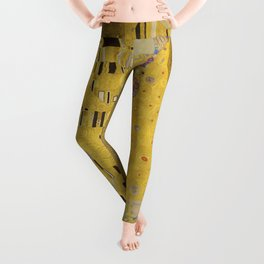 The Kiss by Gustav Klimt Leggings