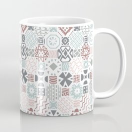 Tiles in neutral colors Coffee Mug