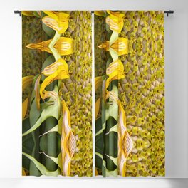 A Flower Of Sunshine Seed Lights Blackout Curtain