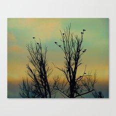 Ombre Sky Canvas Print