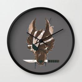 Dogfight Wall Clock