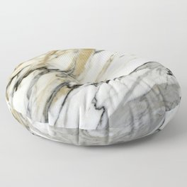 Carrara Marble Floor Pillow