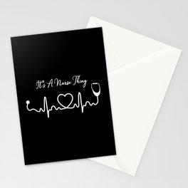 Nurse Funny Hero Saying Stationery Cards