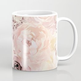 Midsummer Roses- Vintage Rose Pattern Coffee Mug