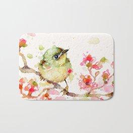 Mr Fluffy Pants (bird) Bath Mat