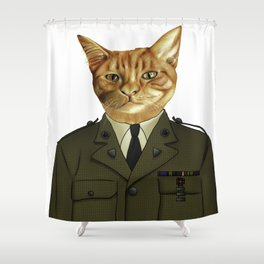 Paws of Fortune Shower Curtain