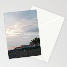 End of the day. Stationery Cards