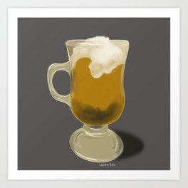 Sweet drink Art Print