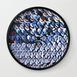 Paillettes Wall Clock