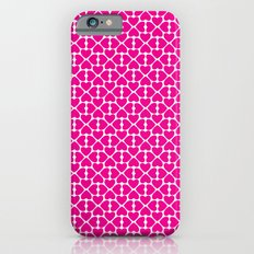 Pink Trefoil iPhone 6s Slim Case