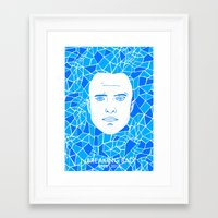 jesse pinkman Framed Art Prints featuring Jesse Pinkman by Matt Ferguson
