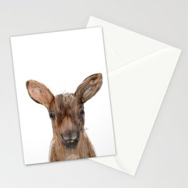 littlest moose Stationery Cards