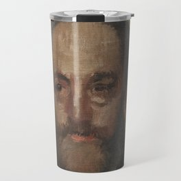 Portrait of the Art Critic Durand-Gréville Travel Mug
