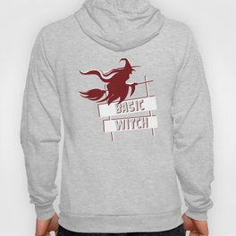 Basic Witch Funny Halloween Witches T-Shirt Hoody