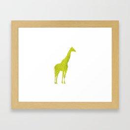 Mr. G-Raff Framed Art Print