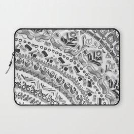 Loose Black&White Tribal Pattern Laptop Sleeve