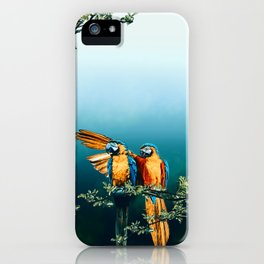 Papagaios iPhone Case