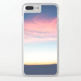 Marfa Lights Clear iPhone Case