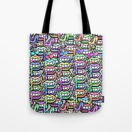 Lip Service - Girly Shit Illustration Tote Bag