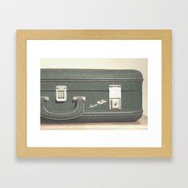 Aero Pak Suitcase - Travel Print Framed Art Print