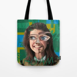 Who am I? Tote Bag
