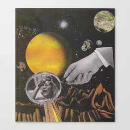 Spacey Mind Tricks Canvas Print
