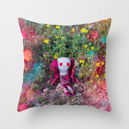 Molly's PlayGround Throw Pillow