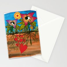 Intra-terrestrial messages Stationery Cards
